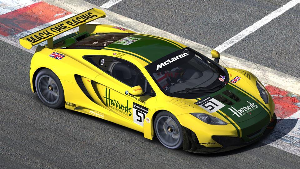 95 Harrods Mach One Racing Mclaren F1