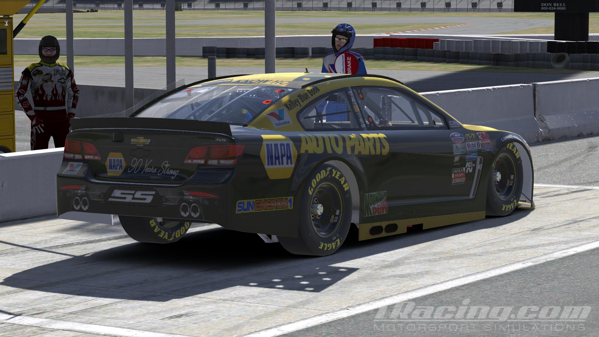 24 chase elliott napa auto parts throwback 2016 by udo washeim trading paints. Black Bedroom Furniture Sets. Home Design Ideas