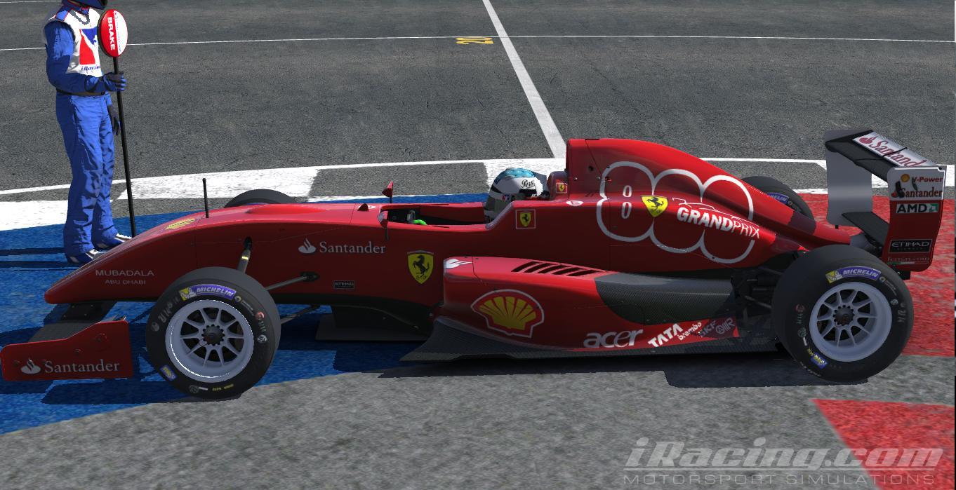 ferrari f10 800 GP by Amit Leon - Trading Paints