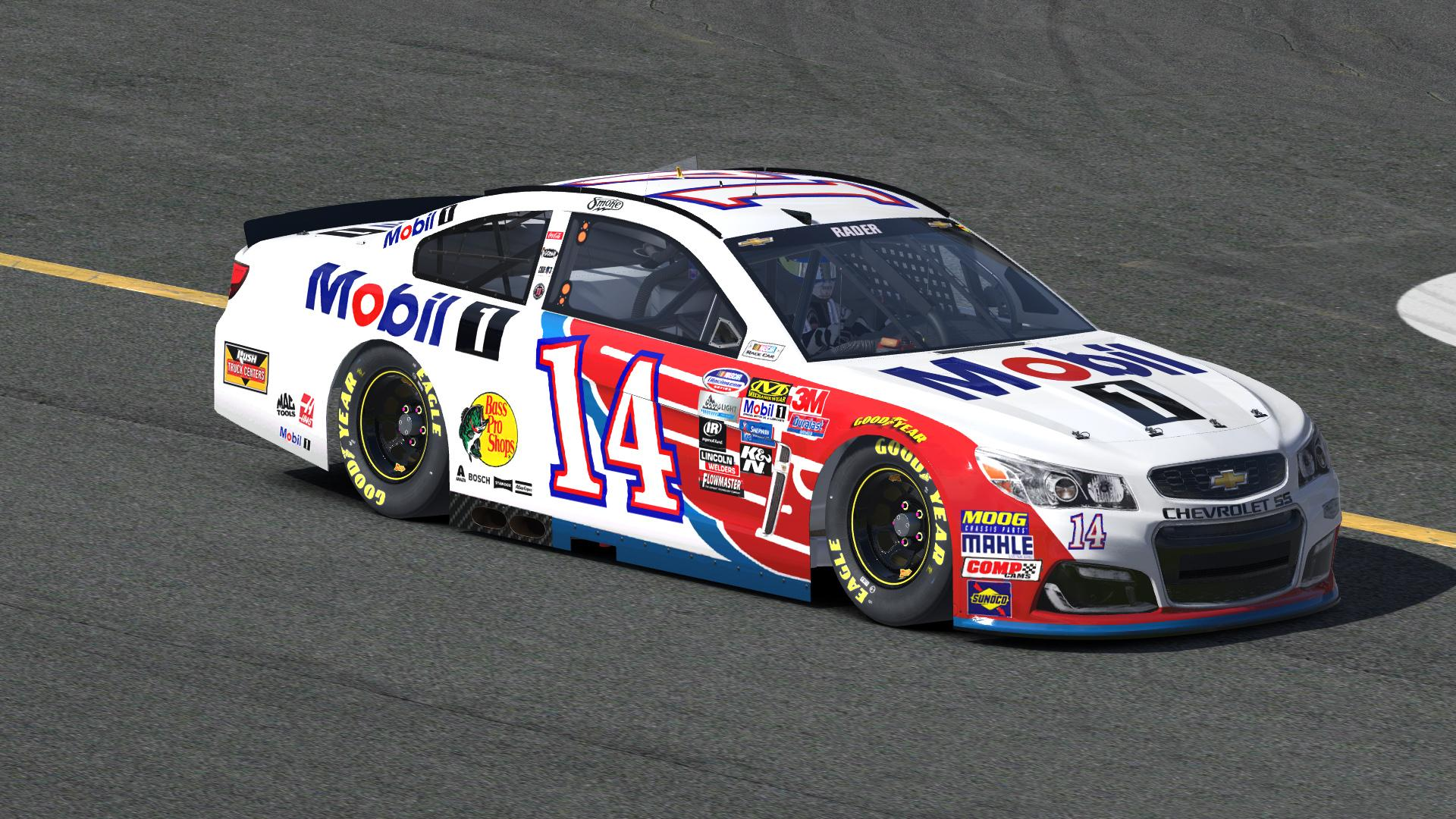 Preview of Tony Stewart Mobil1 by Zach Rader