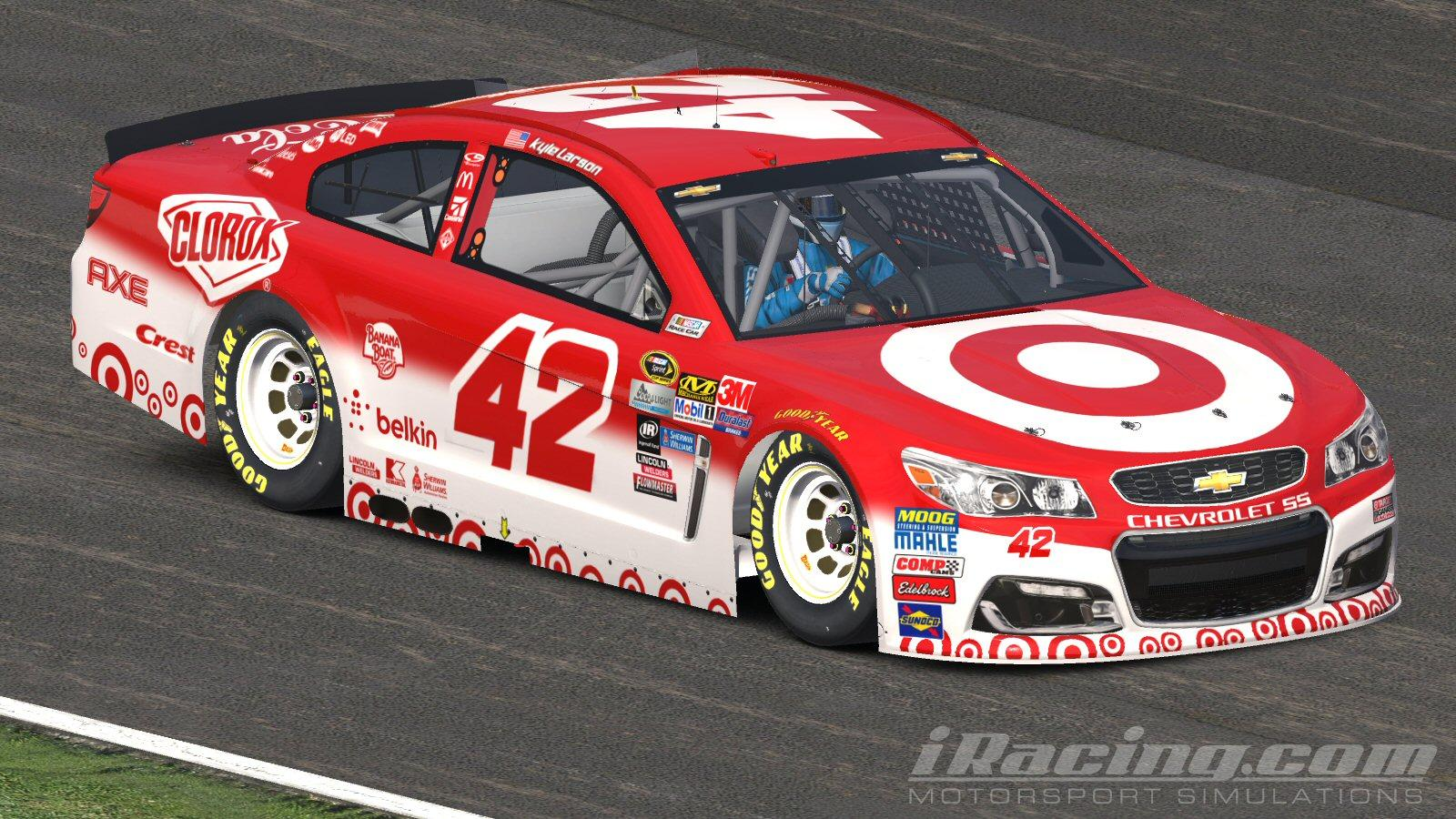 Kyle Larson Target Chevy All Star Race NASCAR Monster Energy Cup Chevrolet SS By Ryan Nichols2