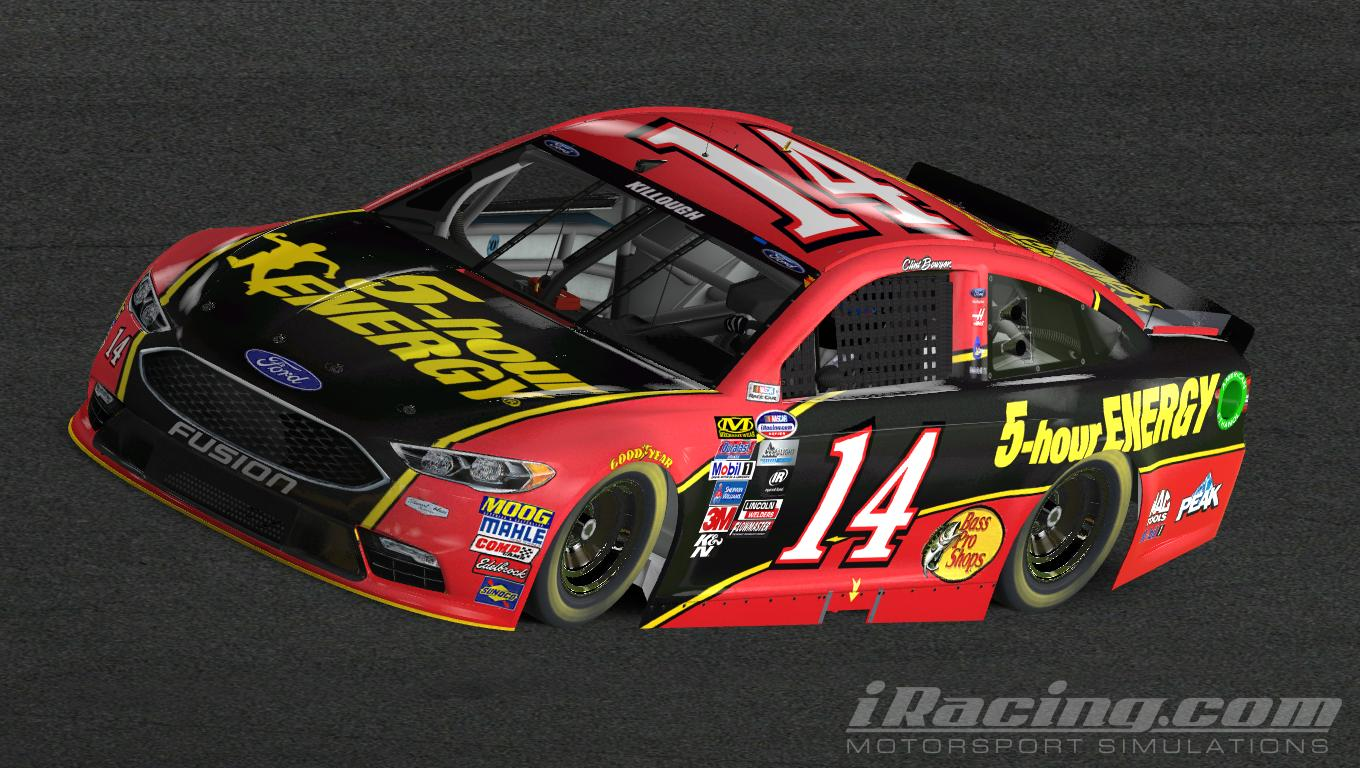 2017 Clint Bowyer 5 Hour Energy Fusion
