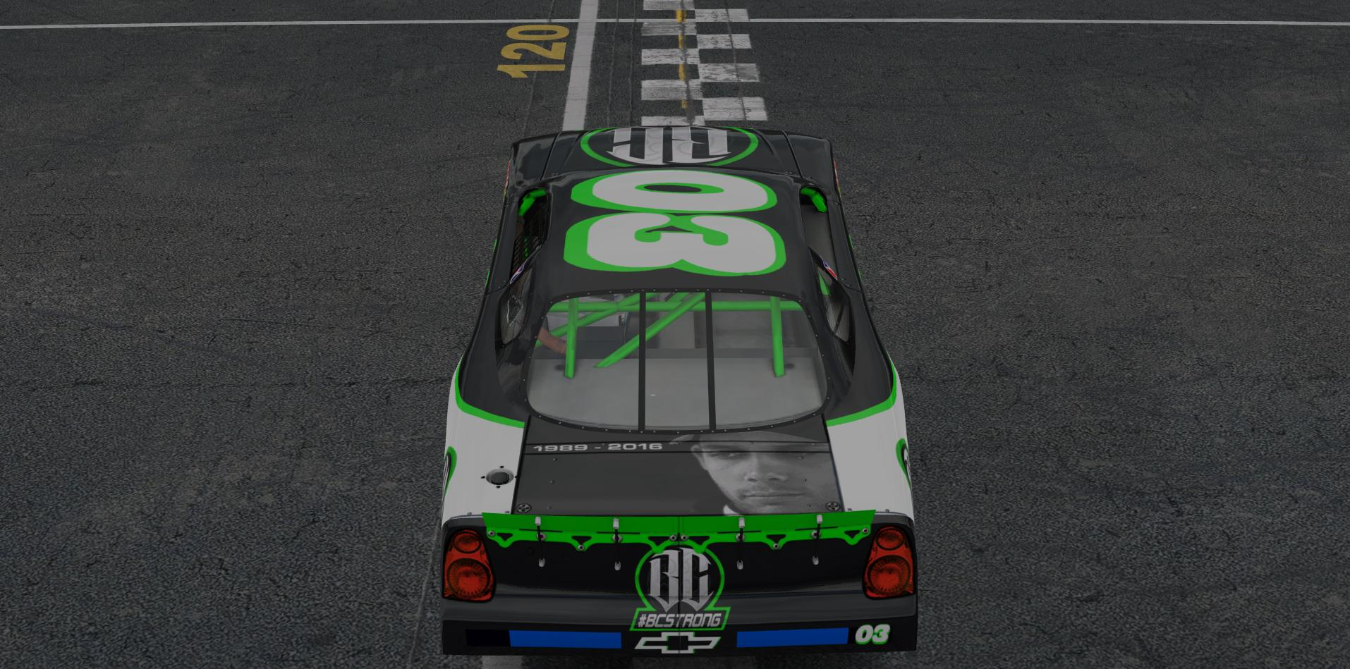 Preview of Bryan Clauson Chevrolet Monte Carlo SS #BCSTRONG by Jason M Stewart