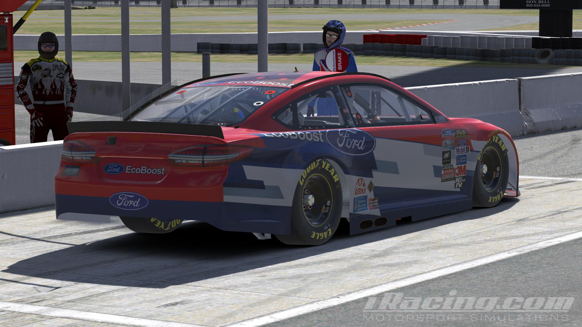 Preview of #16 Greg Biffle Ford EcoBoost 2016 by Udo Washeim