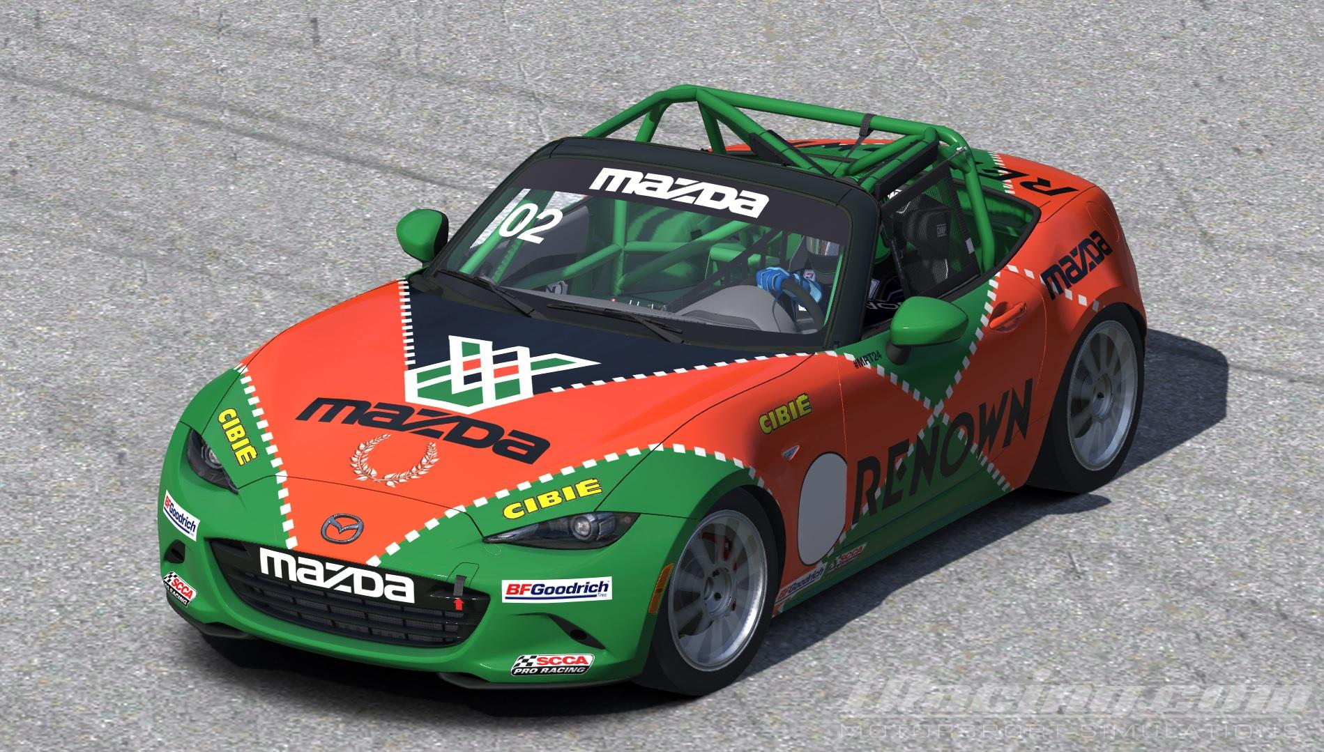 Preview of Mazda MX5 2016 Renown by Chris Bull