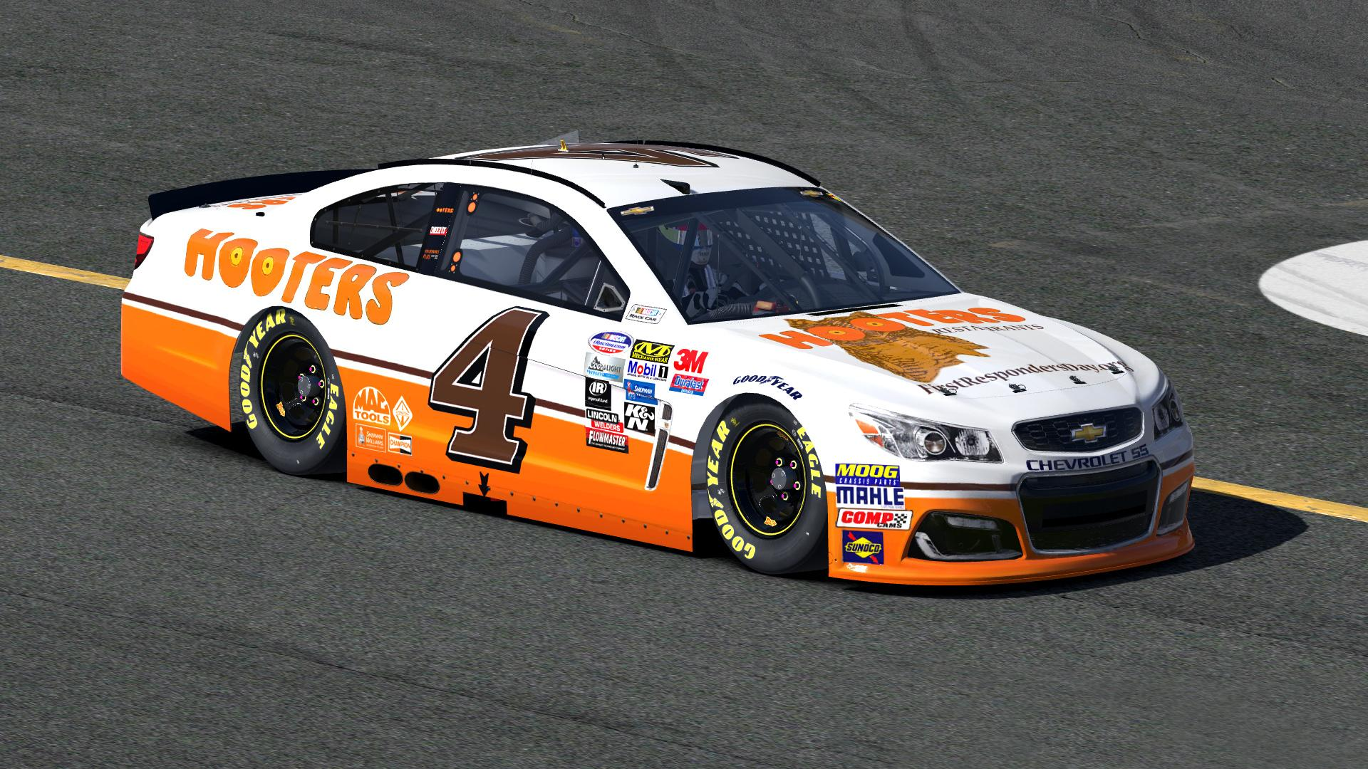 Hooters Chevy ss by Zach Rader - Trading Paints