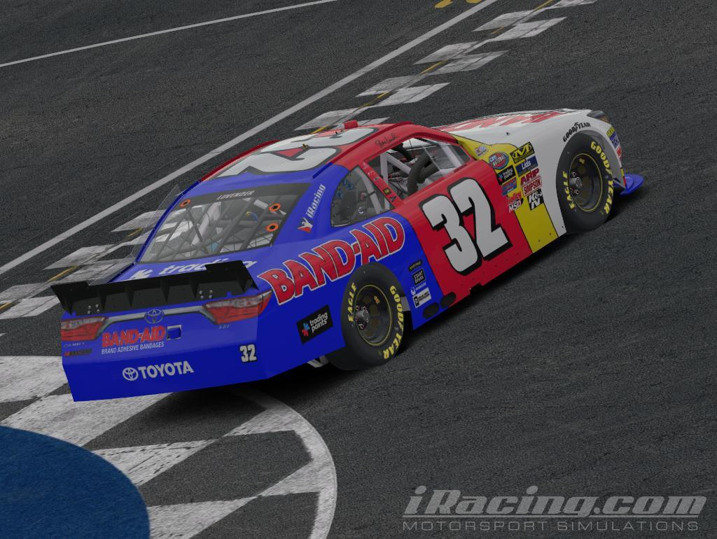 Preview of Dale Jarrett 1996-Style Band-Aid Throwback by Steve Luvender