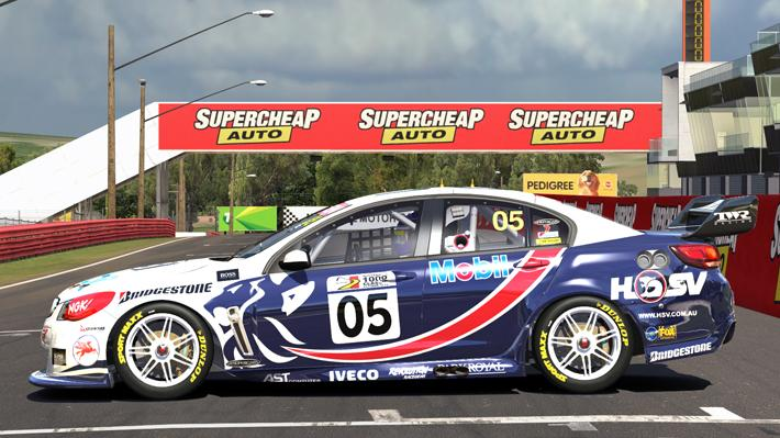 Preview of 1997 Brock Holden Commodore VF by Warwick Browne