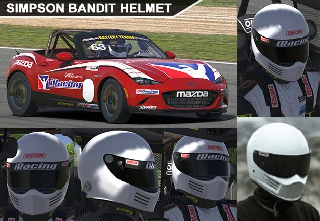 Preview of Simpson Bandit Helmet by George Simmons