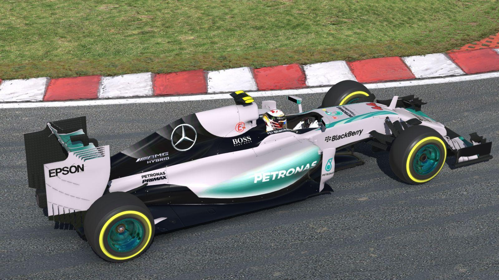 Preview of Lewis Hamilton 2016 by George Simmons