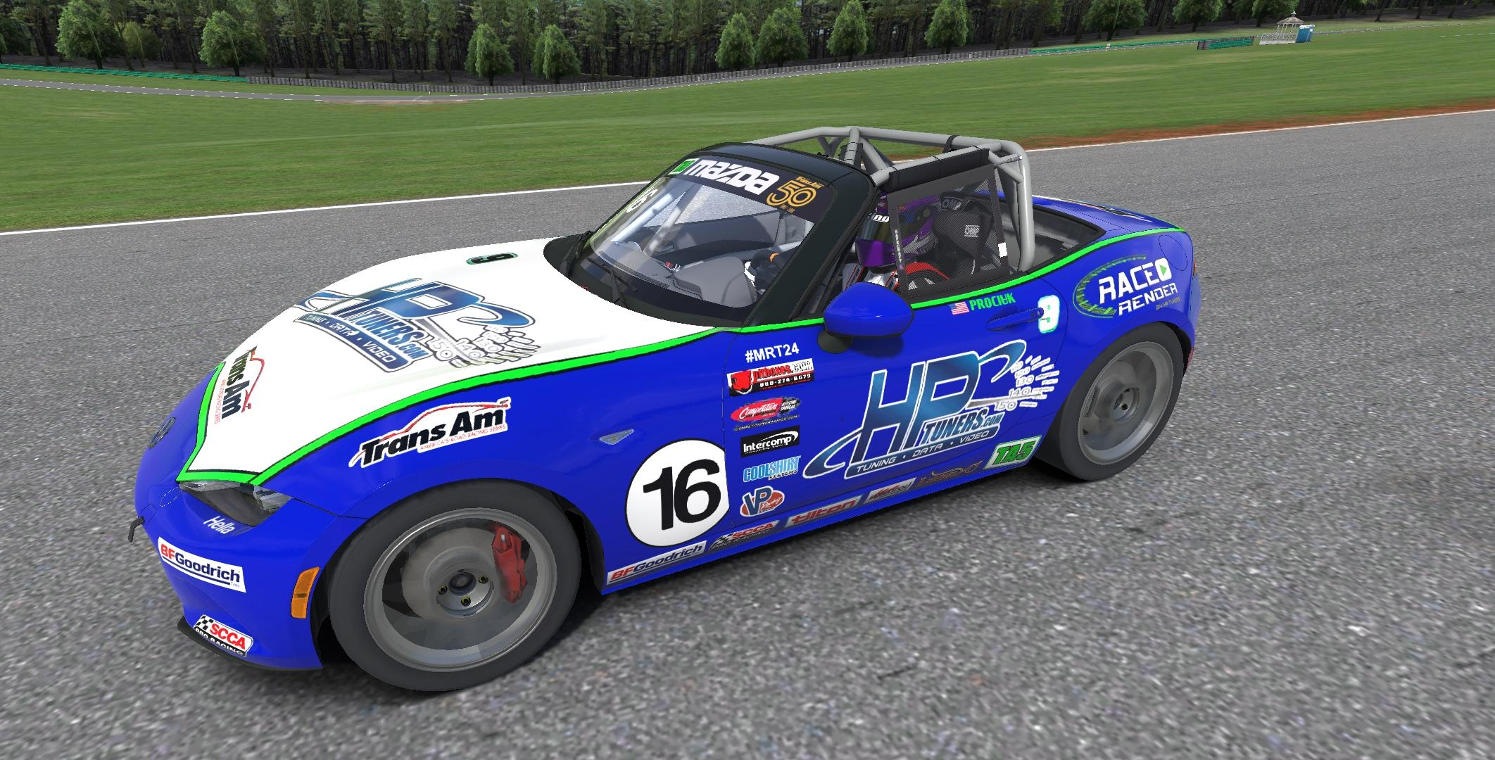 Keith Prociuk Trans-Am Racing inspired Global MX-5 Cup Car by James ...