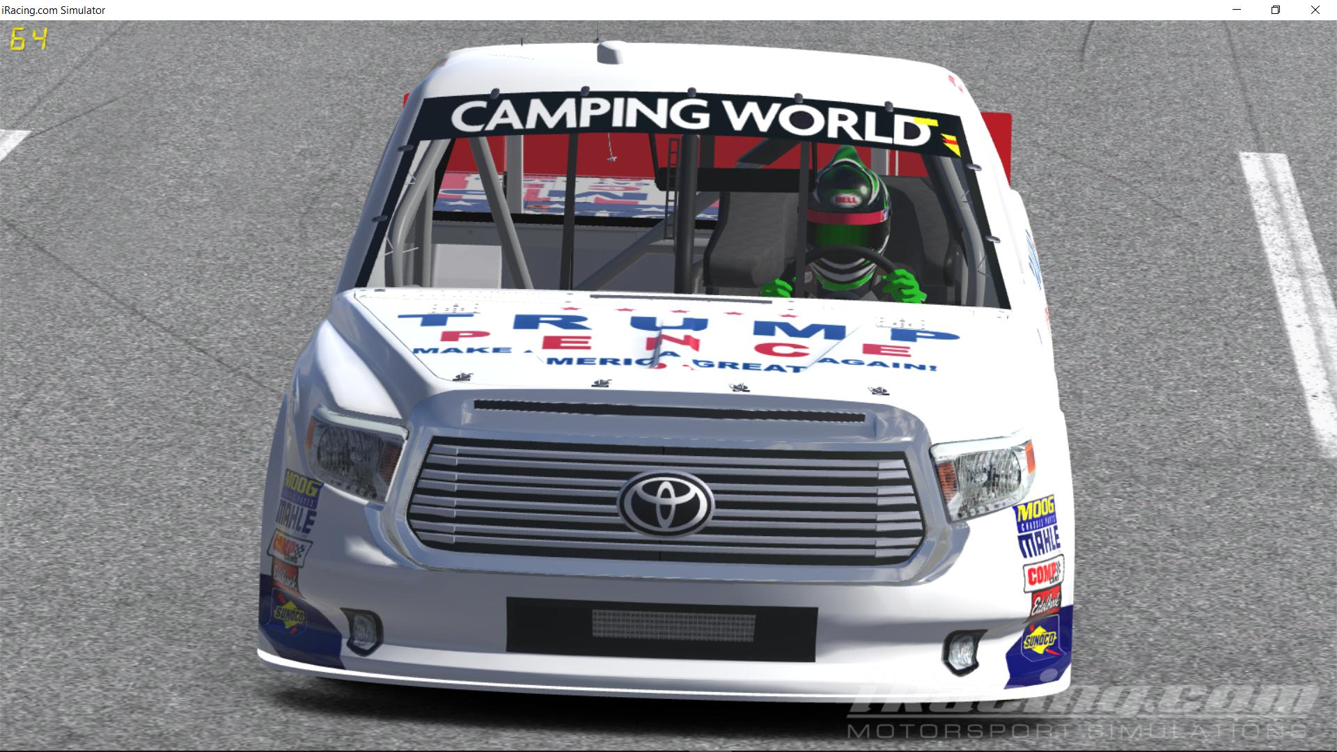 Preview of Austin Wayne Self Trump Pence Toyota Tundra by Justin Bland
