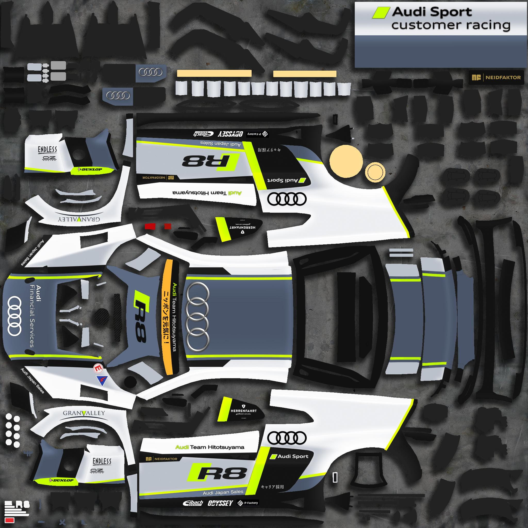Preview of Audi Team Hitotsuyama (Fictional) by Justin S Davis