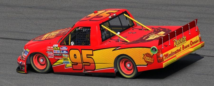 This paint scheme is unlisted. Only those with the link can see it. & Lightning McQueen by Peter Jolly - Trading Paints