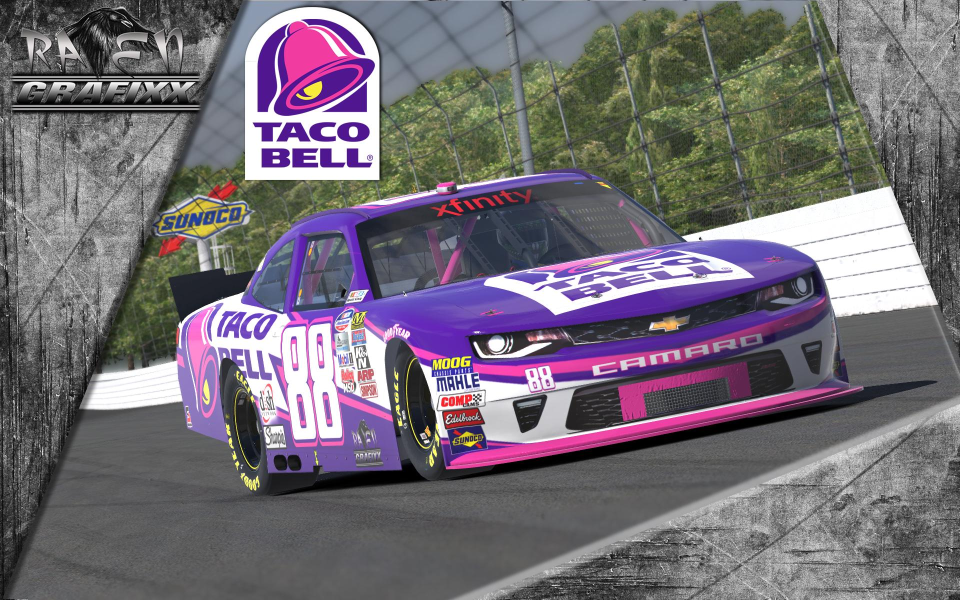 Preview of TacoBell Chevrolet Camaro Class B 2016 by Doyle Lowrance