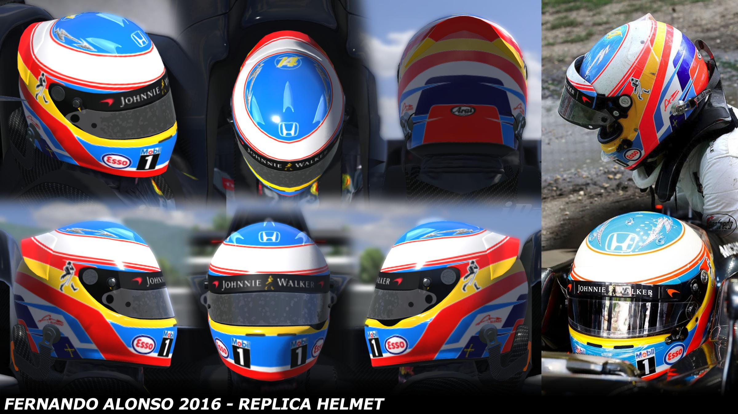 Preview of Fernando Alonso 2016 by George Simmons