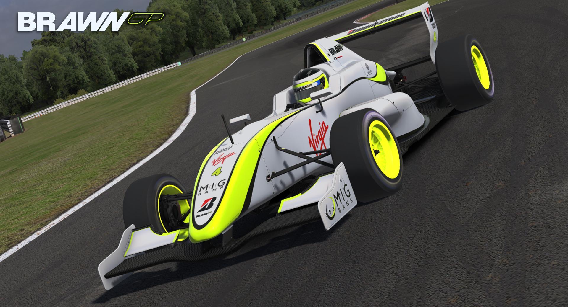 Preview of Brawn GP BGP 001 by Justin S Davis