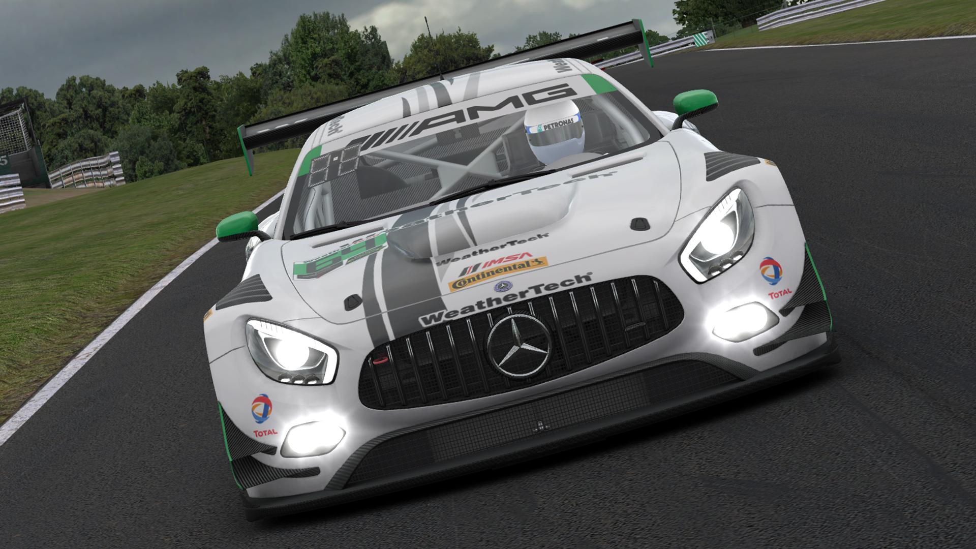 Preview of #50 Riley Motorsports Mercedes AMG GT3 (IMSA 2017) by Justin S Davis