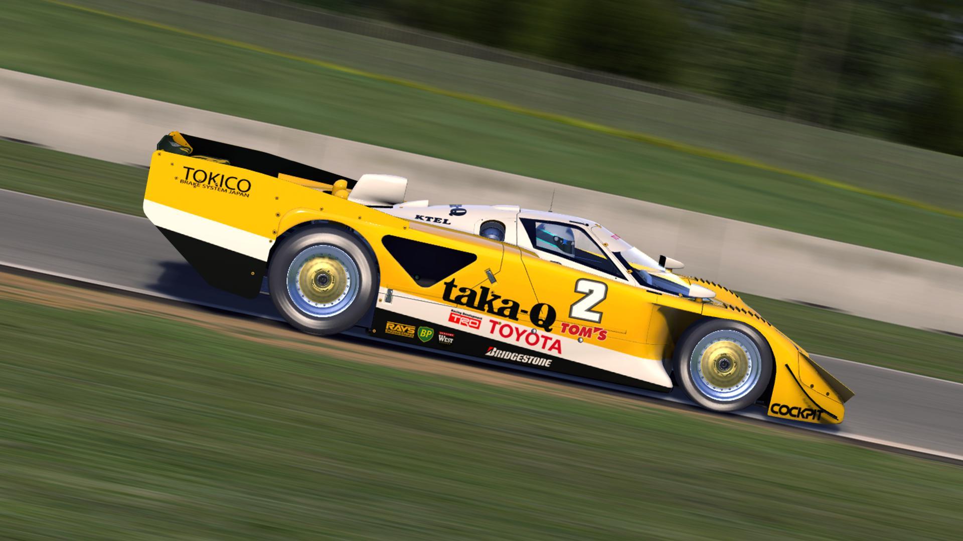 Taka Q Toyota 89c V 1989 Le Mans By Justin S Davis