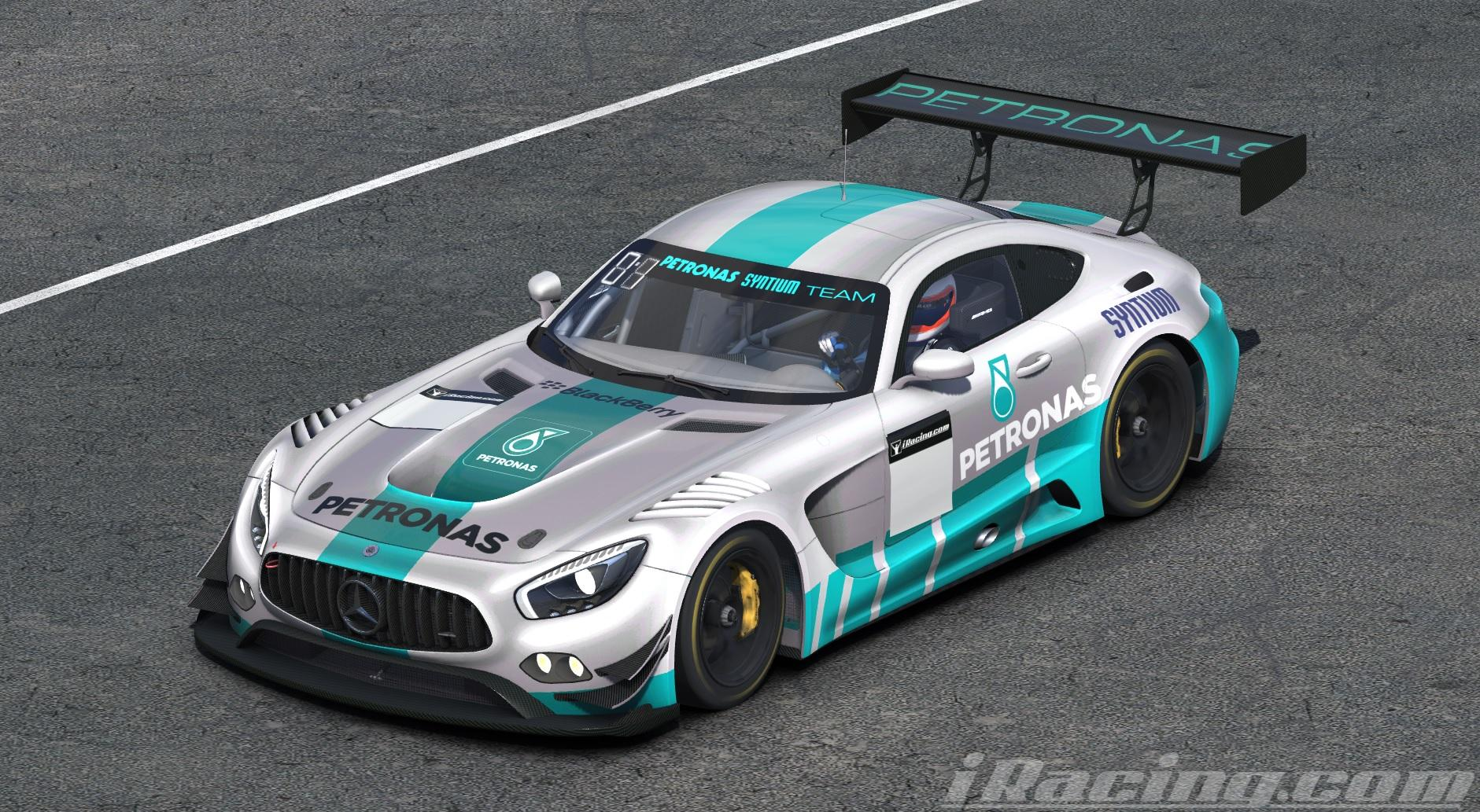 petronas mercedes amg gt3 by chris bull trading paints. Black Bedroom Furniture Sets. Home Design Ideas