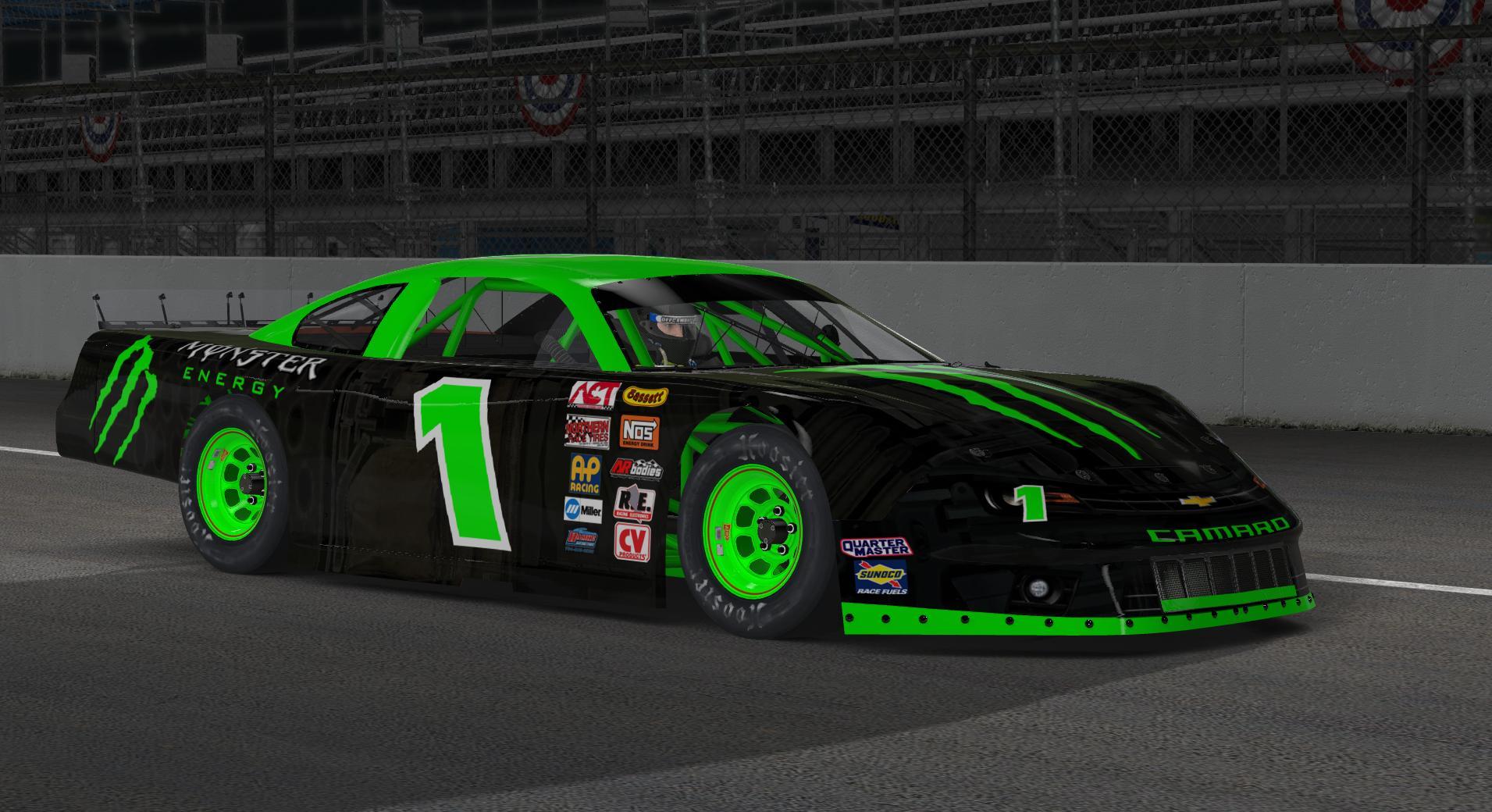 Custom Car Paint >> Monster Energy Drink Chevrolet Camaro SLM by Jason M ...