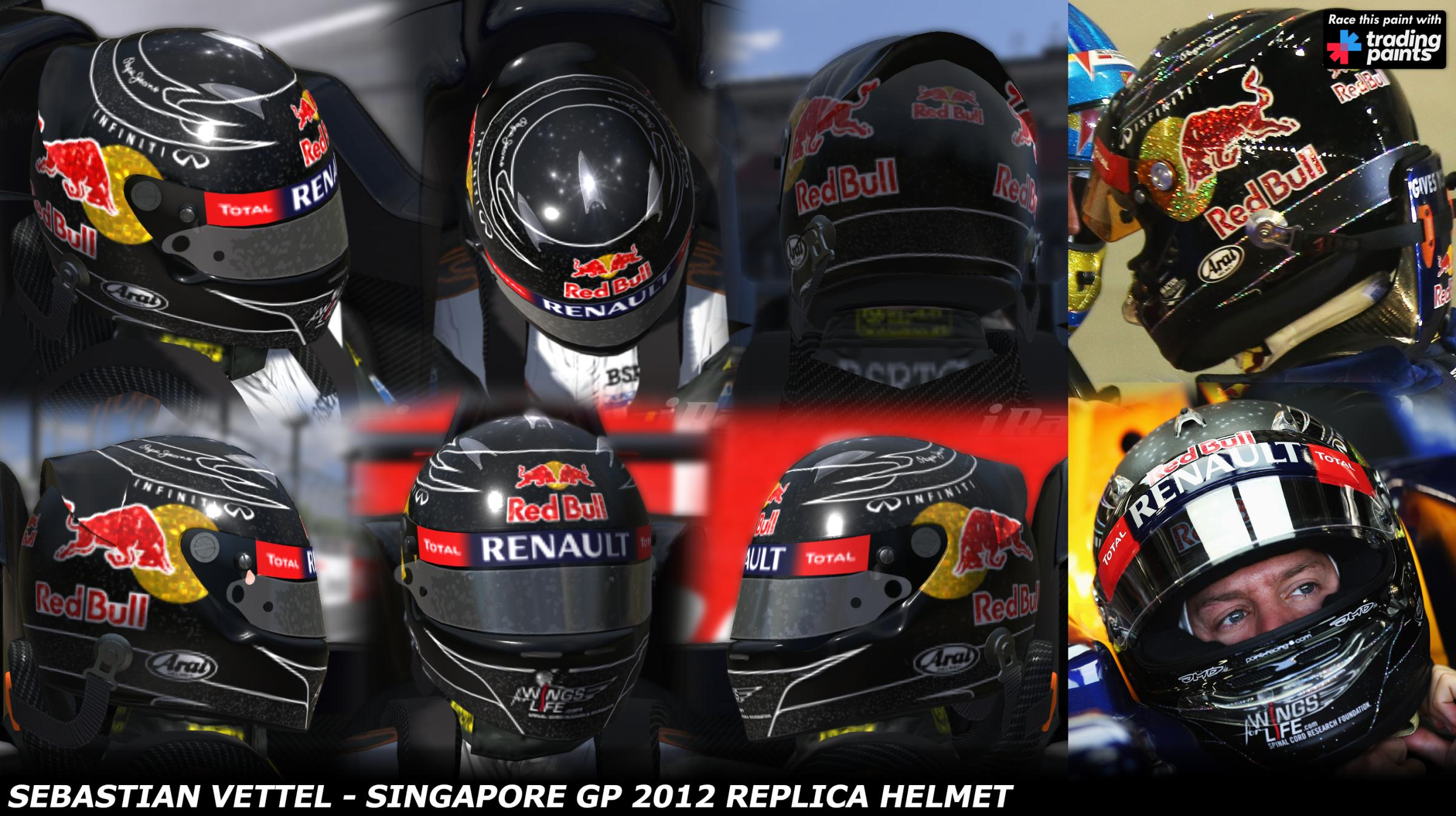 Preview of Vettel Singapore 2012 by George Simmons