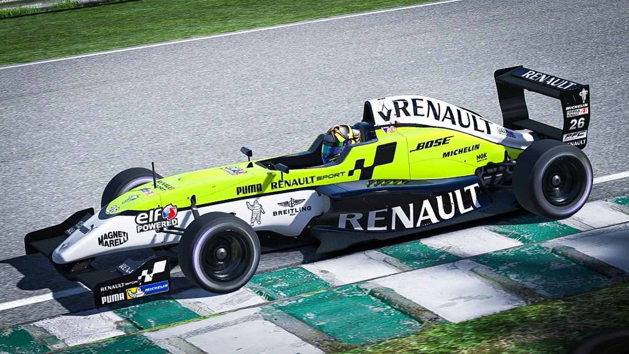 Preview of Renault Sport Formula Renault 2.0 - Fictional by Simon Bailey