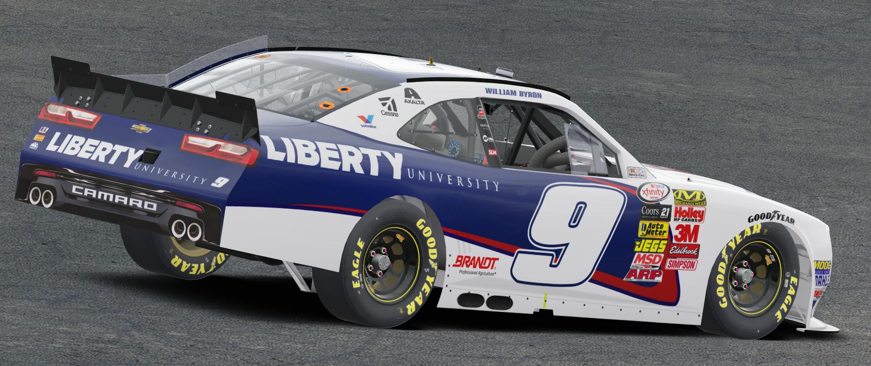Preview of 2017 William Byron Liberty University Camaro by Preston Pardus