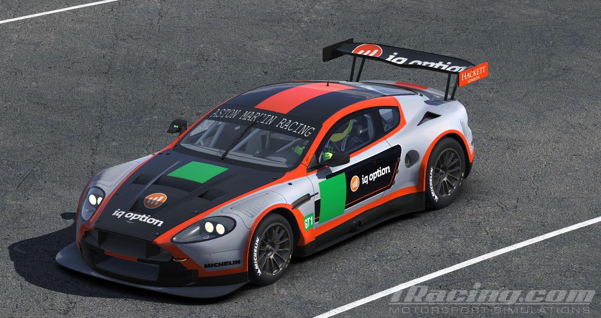 Iq Option Aston Martin Dbr9 Gt3 By Chris Bull Trading Paints
