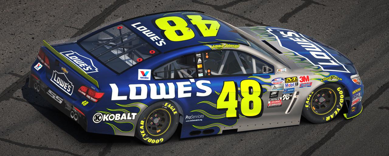 Preview of #48 Lowes Flames Chevy SS by James Collins