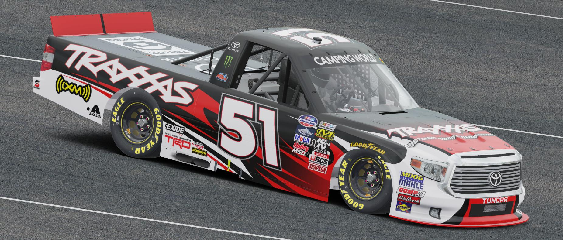 Preview of Kyle Busch Traxxas Tundra by Preston Pardus