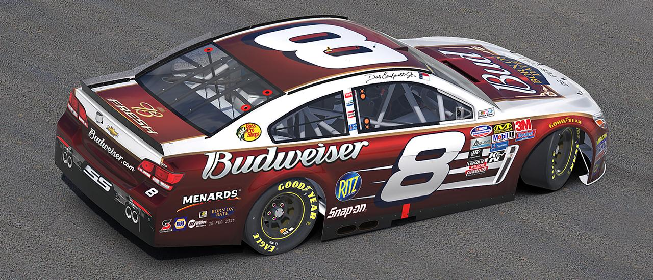 Preview of #8 Budweiser Chevy SS ( 05 Daytona Remake ) by James Collins