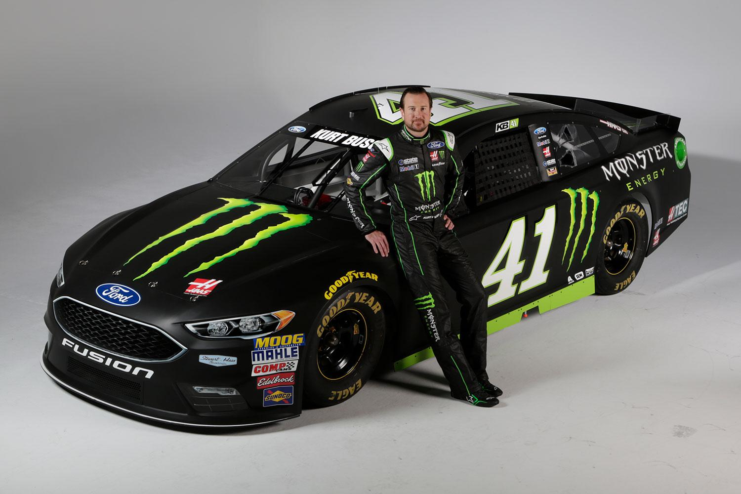 Preview Of 2017 Kurt Busch Monster Energy Ford Fusion By Stephane Pa