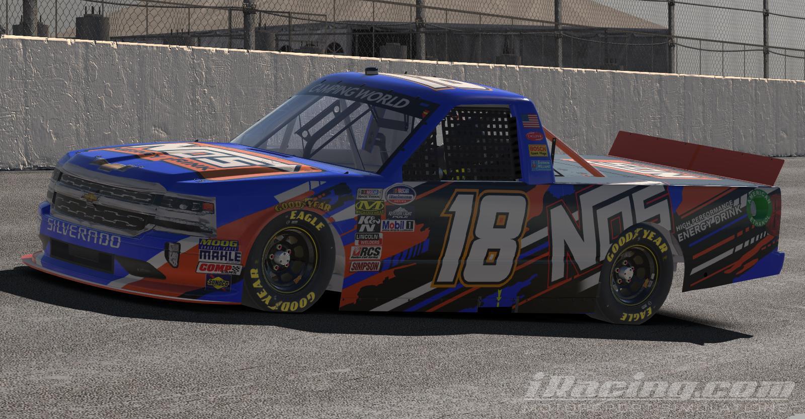 Preview of NOS Energy Chevrolet Silverado by Tanner Tallarico