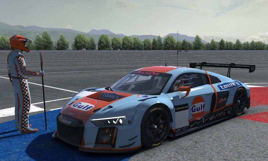Gulf audi r8 gt3 by javier perez3 trading paints audi r8 lms by javier perez3 pro publicscrutiny Images