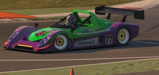 Radical SR8 by Julio Esquivel - Trading Paints