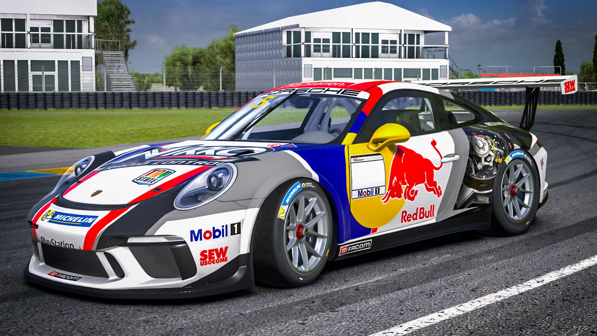 Preview of Seb Loeb Redbull by Paul Mansell