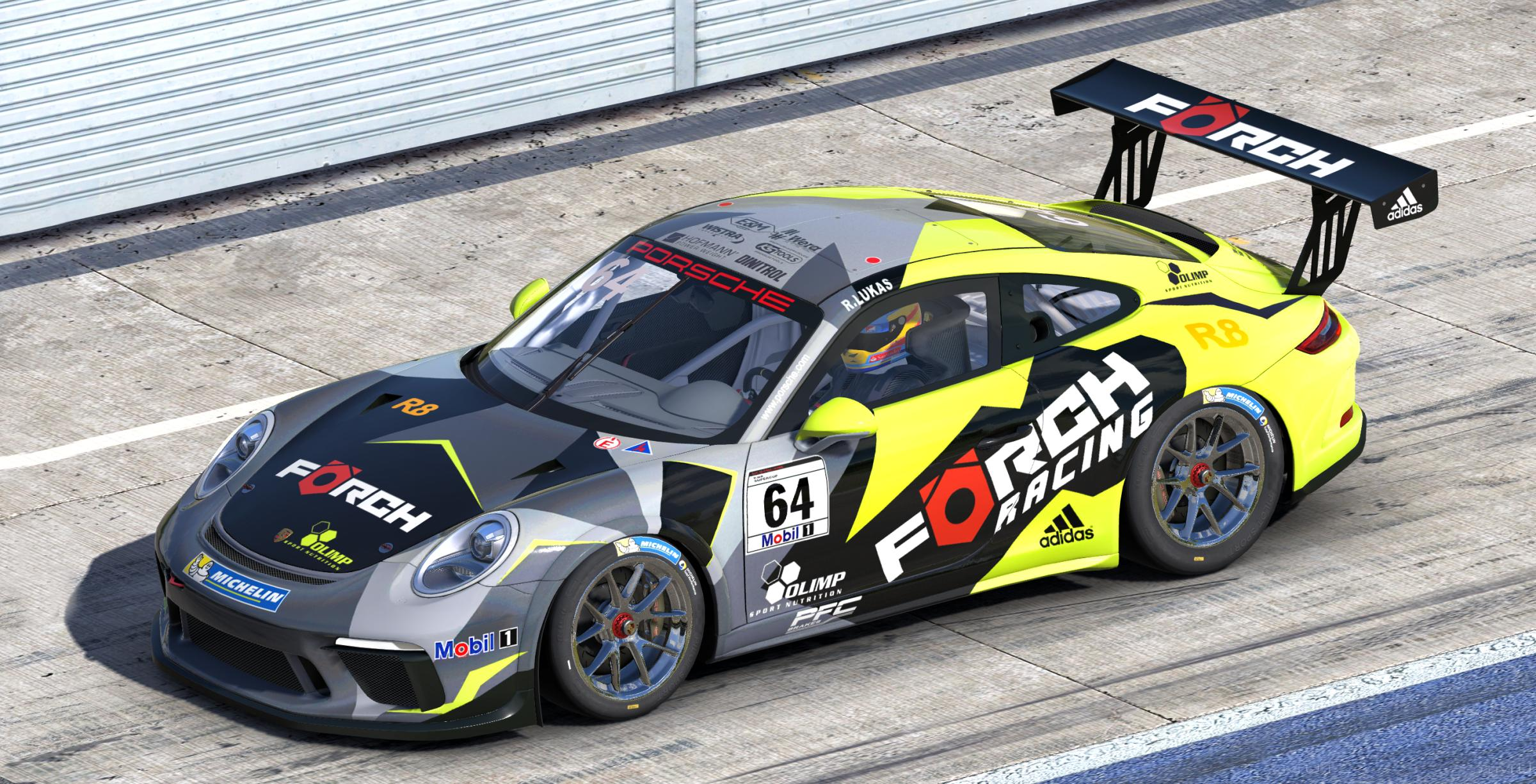 Forch Racing R Lukas Porsche Supercup By Stefan Gawlista Trading Paints