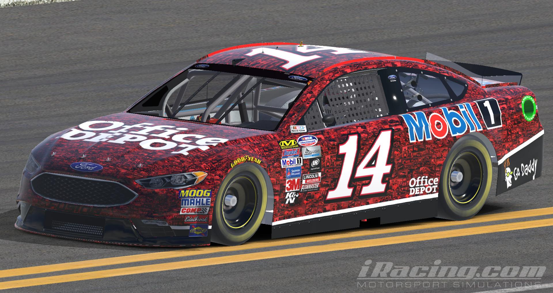 2006 Ford Fusion For Sale >> Tony Stewart Tribute Scheme Ford Fusion (Fictional) by Anthony Burroughs - Trading Paints