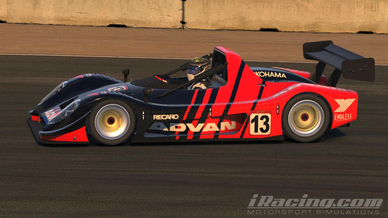 Advan Radical SR8 by Tyler Sasseen - Trading Paints