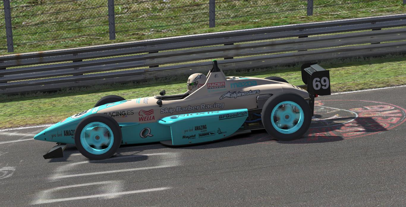 Preview of Formula Skip Barber 2000 YLA Sky by JuanRa Cercós