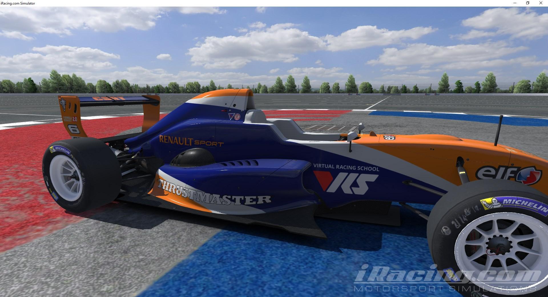 Cordis Sim Racing Team FR2 0 by Jesse Gilbert - Trading Paints