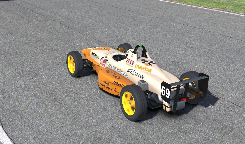 Preview of Formula Skip Barber 2000 YLA Orange by JuanRa Cercós