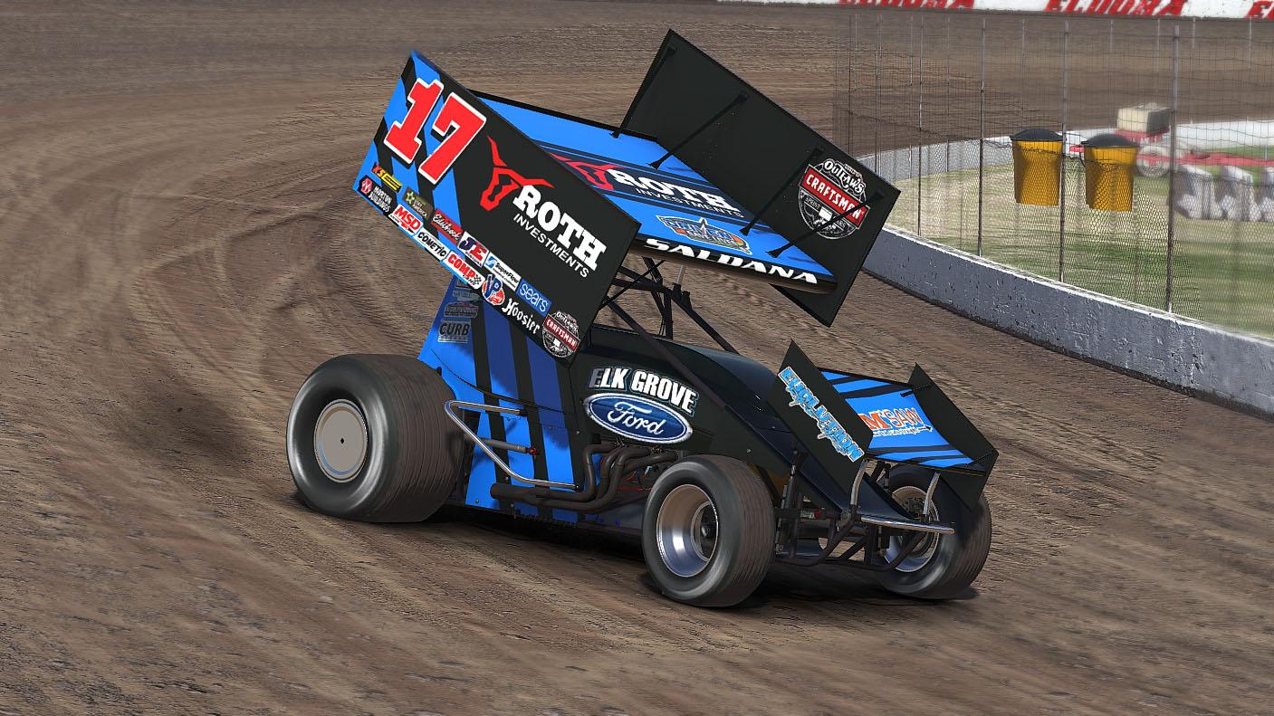 stenhouse jr wood racing 17 sprint car by dante c trading paints. Black Bedroom Furniture Sets. Home Design Ideas