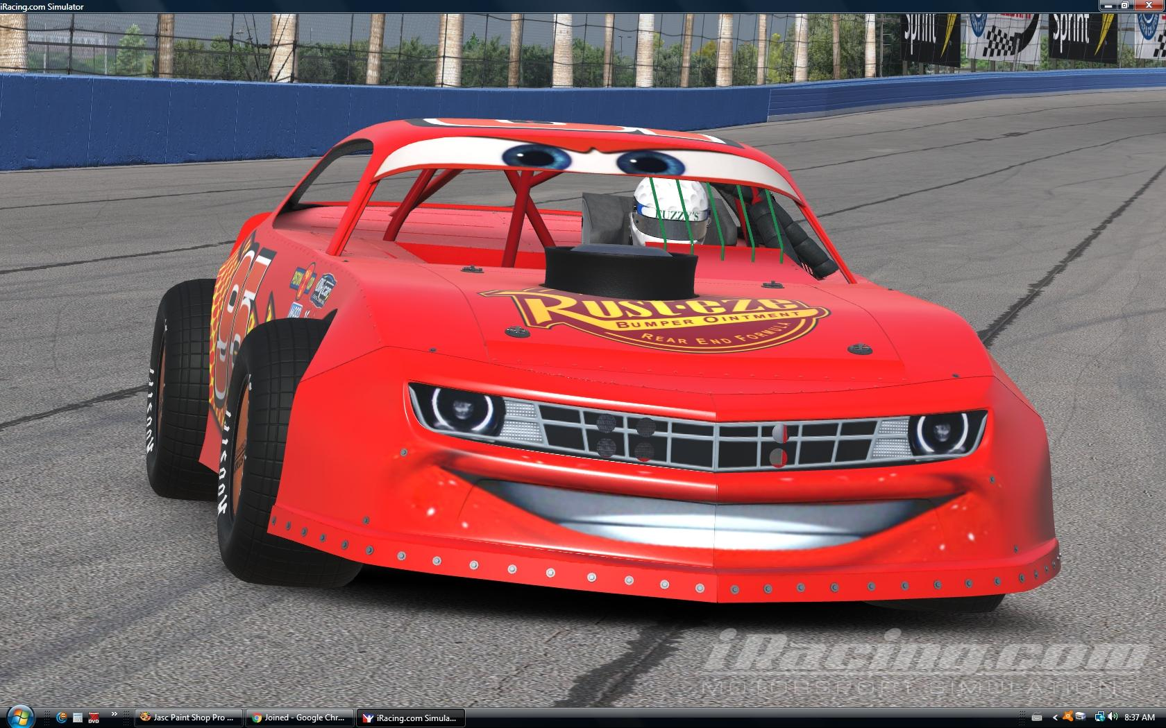Preview of Lightning McQueen by Don Craig