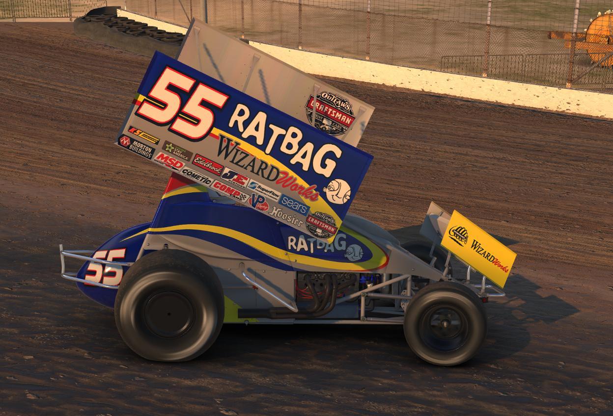 Tyler walker ratbag games woo by tyler tucker trading for Dirt track race car paint schemes