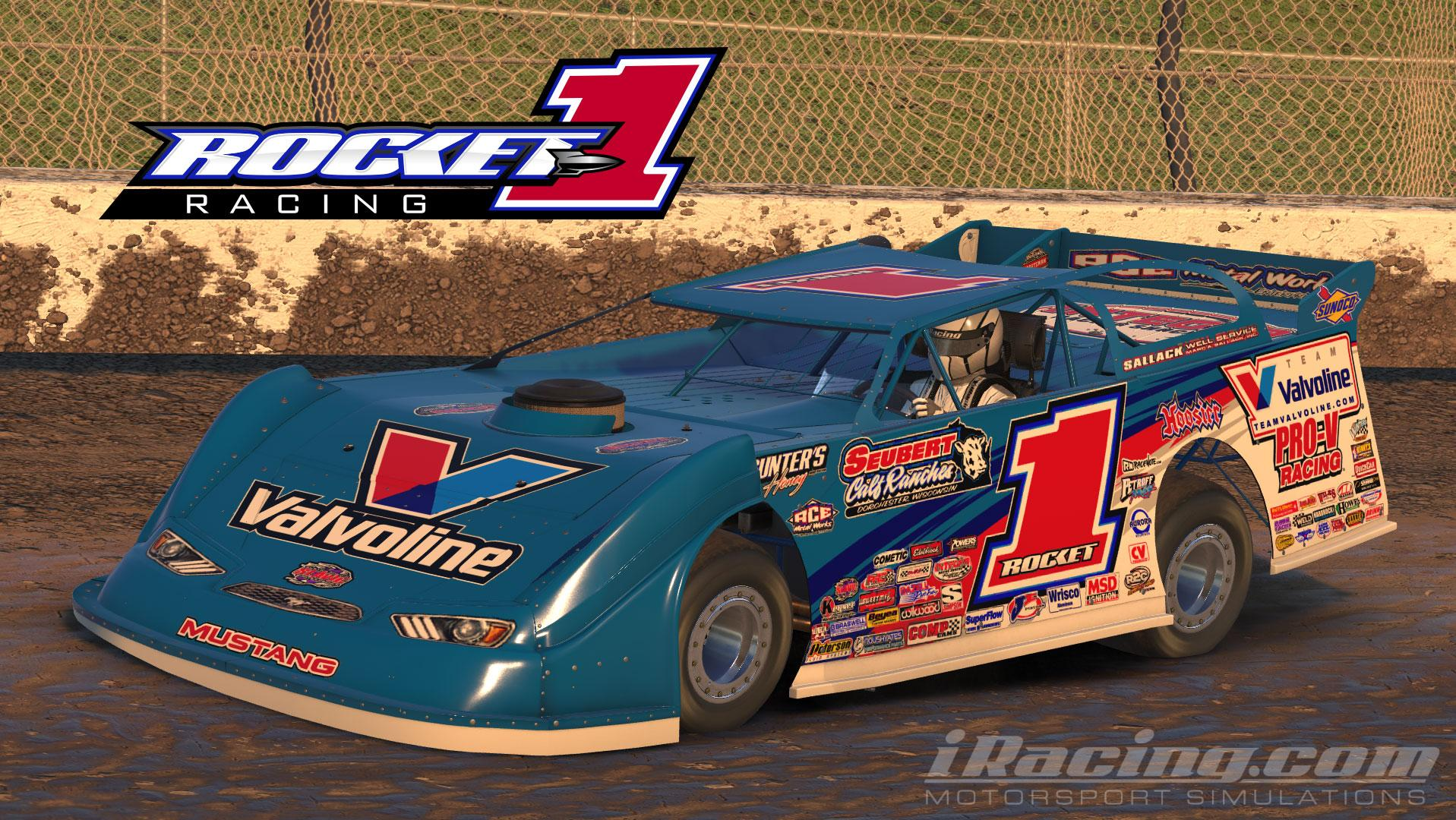 Preview of 2017 Valvoline/Seubert Calf Ranches/Rocket Chassis #XR1 Rocket1 Racing Ford Mustang (v3) by Seann Anderson