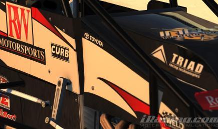 Bobby Santos RW Racing Sprint Car