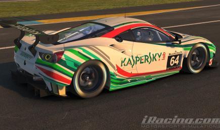 Kaspersky Motorsports Ferrari 488 GT3