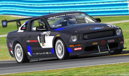 Ford Mustang GT4 CTSCC GS Multimatic Livery